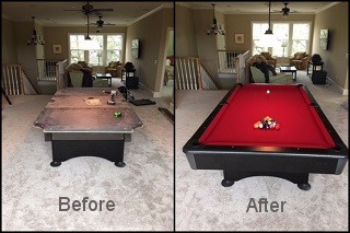 expert pool table recovering in Lynchburg content img3
